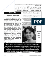 23st Alternative Edition of New Light of Myanmar