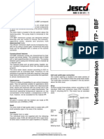 Vertical Immersion Pump VTP-BBF