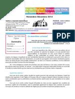 Bulletin novembre/décembre 2014