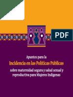 Incidencia Politica Mujeres Indígenas