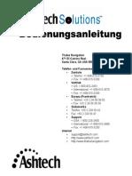 Ashtech Solutions 630821-04 RevA German