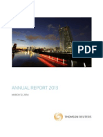 Thomson Reuters Annual Report 2013