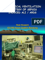 Mechanical Ventilation Strategy of Sepsis Induced Ali