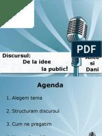 Discurs  De La Idee La Public