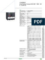 Circuit Breaker NSX160F