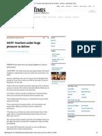 NUTP_ Teachers Under Huge Pressure to Deliver - General - New Straits Times