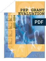 Allegany County Carol M. White Physical Education Program Grant Evaluation, 20022004