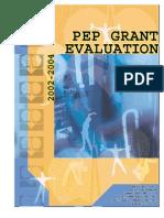 Allegany County Carol M. White Physical Education Program Grant Evaluation, 20022004