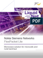 FlexiPacket Lite for Small Cells and Rural Backhaul