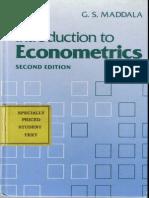 Introduction to Econometrics - Second Eddition - G_S_ Maddala