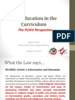 02c - Integration of HIV and AIDS in the Education Curriculum (Community)