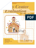 Allegany County Judy Center Evaluation, 2004-2005