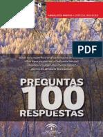 100 Preguntas 100 Respuestas. Especial Bosques - (Junta de Andalucia, 2011)
