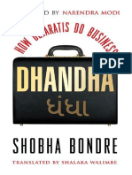 Dhandha - How Gujratis Do Business - Shobha Bondre