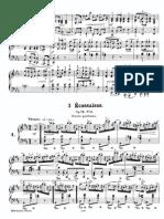 Chopin Klavierwerke Band 3 Peters 6207 Op 72 No 3 Scan