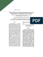Produksi, isolasi dan karakterisasi superoksida dismutase dari Spirulina platensis yang dibiakkan dalam serum lateks