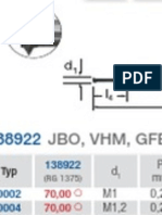 Freza Filetare Din 13 Din 228 Din Ansi b1.1 Ansi b1.20.1