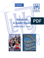 Standards and Quality Report 2013-2014