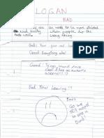 year 7 boys feedback