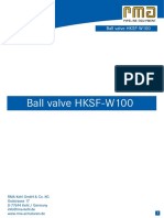 HKSF-W100 E