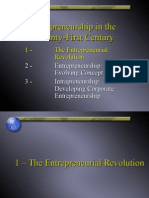Entrepreneurship in the Twenty-First Century