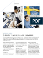 Working in Sweden