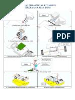 9 Manual Pemasangan Kit Model Kereta Kawalan Jauh RBT Thn5