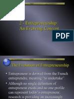 2 - Entrepreneurship