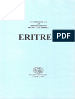 Investment Policy and Opportunities of the State of Eritrea
