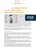 Things You Need to Know About Home Loan Approval-In-Principle