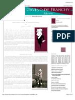 Gaviño de Franchy Editores: Diego Crosa y Costa