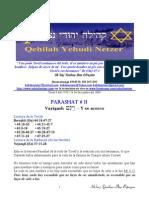 Parashat Vayigash # 11 Adul 5770