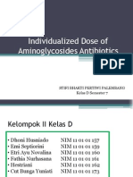 Individualized Dose of Aminoglycosides Antibiotics