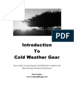 Introduction to Cold Weather Gear