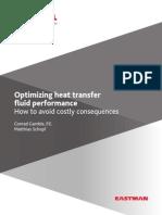 Optimizing Heat Transfer Fluid Performance