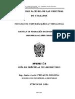 Guía de practicas  2014