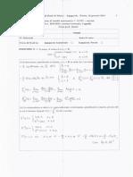 esame analisi matematica 1 svolto
