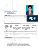 Resume of Md Rakibul Islam