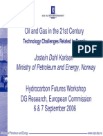 Technology for Arctic oil and gas