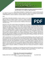 ADHESIÓN SINDICATO ANDALUZ DE TRABAJADORES Y TRABAJADORAS (SAT)