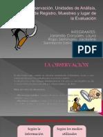 La Observacion.grupo 3. t.noche.dx e Inf Psic.