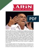 La Crisis Del Éxito en Chile Clarín