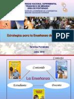 La Epistemología como estrategia para la enseñanza de la matemática. Postgrado UNEFM