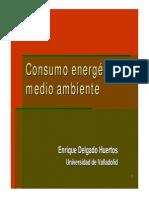 El Consumo Energético y Medio Ambiente
