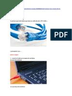 Conexio de 2 Pc Con Cable de Red