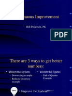Lecture 23 - Continuous Improvement.ppt