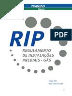 Regulamento de Instalações Prediais - Gás