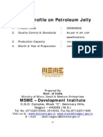Project Profile on Petroleum Jelly