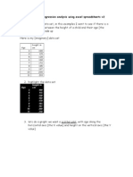 How to Do Regression Analysis Using Excel Spreadsheets v3