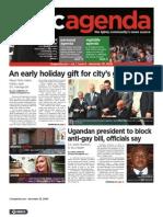 dcagenda.com - vol. 1, issue 6 - december 25, 2009